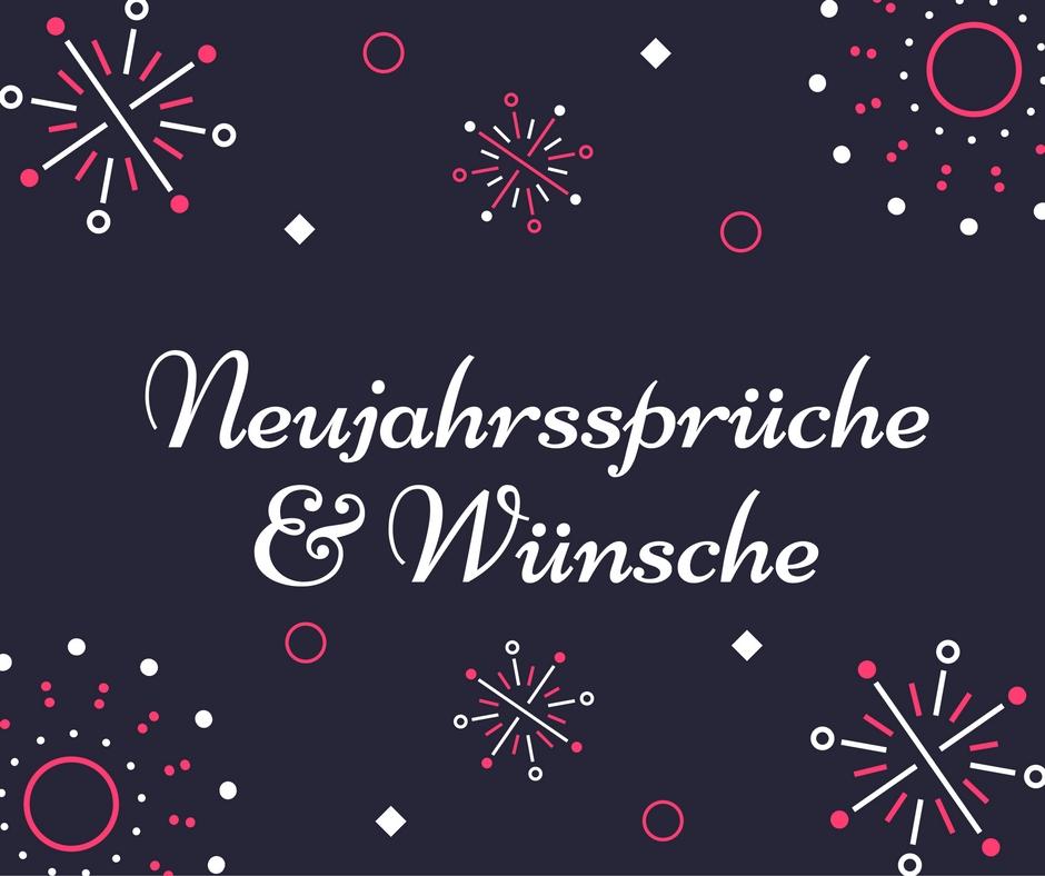 Neujahrssprüche